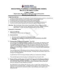 EPCC Minutes 12-13-12 - Santa Rosa Junior College