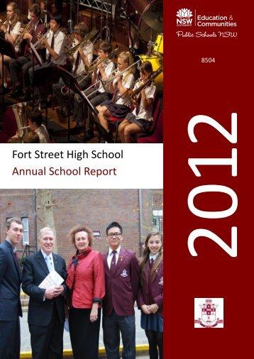 2012 - Fort Street High School