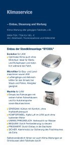 Fahrzeugbau Seitenlader Klimaservice - Päuser - Seite 5