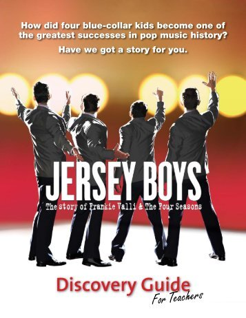teachers' guide - Jersey Boys