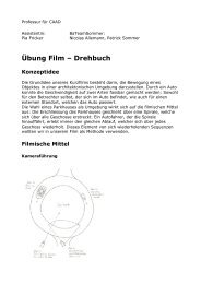 Übung Film – Drehbuch