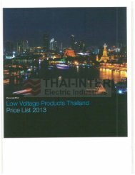 Page 1 vv Voltage Products Thailand Page 2 Page 3 SUMMÀRY I ...