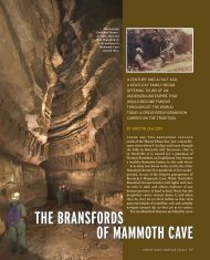 THE BRANSFORDS OF MAMMOTH CAVE - Kristin Ohlson