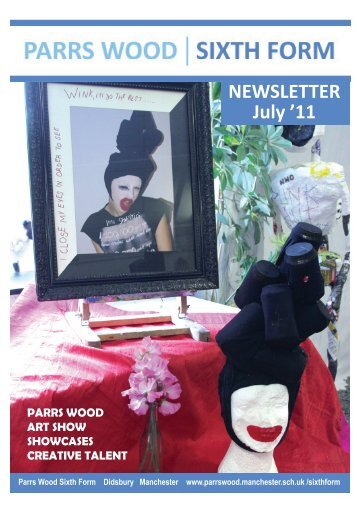NEWSLETTER July '11 - Parrs Wood High School