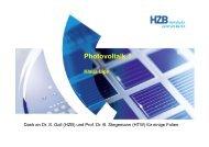 Klaus Lips: Photovoltaik 1