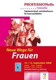 und Zukunftsmesse für Frauen und Mädchen - Paderborn.de