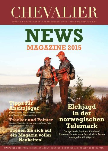 Chevalier NEWS Magazin 2015