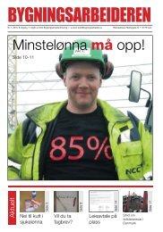 Bygningsarbeideren nr 1 - 2010.pdf - Oslo Bygningsarbeiderforening