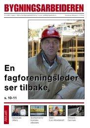 Bygningsarbeideren nr 3 - 2009.pdf - Oslo Bygningsarbeiderforening