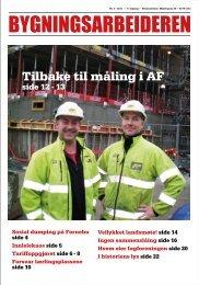 Bygningsarbeideren nr 3 - 2011.pdf - Oslo Bygningsarbeiderforening
