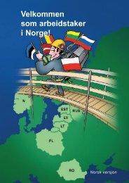 Velkommen til Norge! - Fellesforbundet