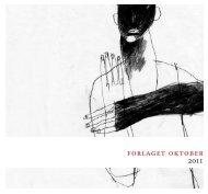 katalogen til web.pdf - Forlaget Oktober