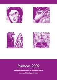 Fastetiden 2009 Fastetiden 2009 - Korsvei
