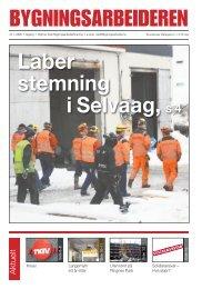 Bygningsarbeideren nr 1 - Oslo Bygningsarbeiderforening