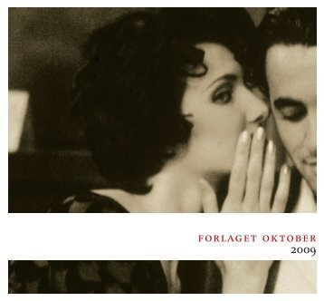 oktober. katalog. 2009. web.pdf - Forlaget Oktober