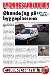 Bygningsarbeideren nr 4 - 2006.pdf - Oslo Bygningsarbeiderforening