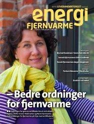 NYTT: LEVERANDØRTORGET Side 33 –35 - Norsk Fjernvarme