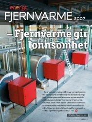 32 sider fjernvarme - Norsk Fjernvarme