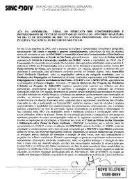 ATA DA ASSEMBLÉIA GERAL DO SINDICATO DOS ...