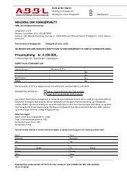 MELDING OM FORKJØPSRETT Prisantydning: kr. 4 100 000,- - ABBL