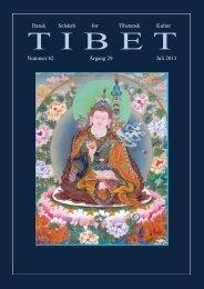Tibet nr 82 - Dansk Selskab for Tibetansk Kultur