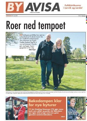 Bøkedampen klar for nye byturer - Byavisa Larvik & Stavern