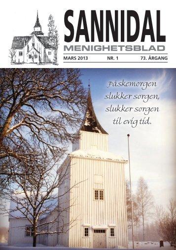 2013-1 - kirkene i Kragerø