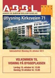 ABBL nytt 4-2011