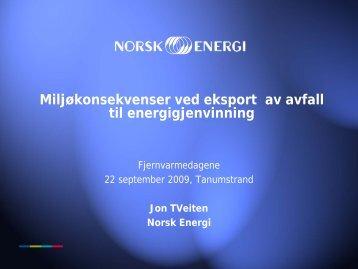 Forbedring og tiltaksliste - Norsk Fjernvarme