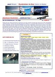 Goldrush Tour - World Travel Net