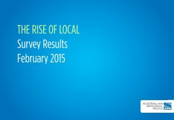 Rise of Local