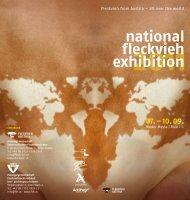 national fleckvieh exhibition - Arbeitsgemeinschaft österreichischer ...