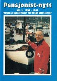 Pensjonist-nytt 2-1997