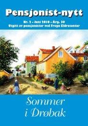 Sommer i Drøbak - Pensjonist-nytt