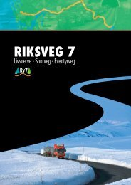 IS Rv7, brosjyre 2008 - Regionrådet for Hallingdal