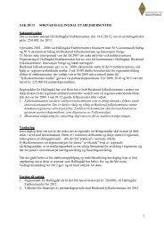 Sak 20/13 - Regionrådet for Hallingdal
