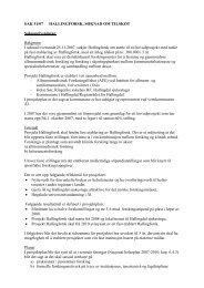 Sak 51-07, Søknad om tilskot Hallingforsk - Regionrådet for Hallingdal