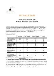 Årsrapport 2010 - Regionrådet for Hallingdal