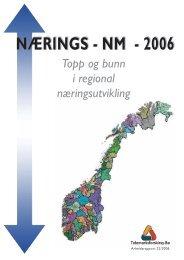 NÆRINGS - NM - 2006 - Regionrådet for Hallingdal