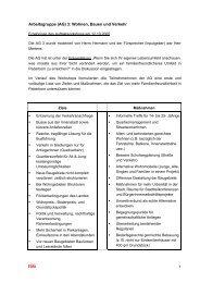 Protokoll der Auftaktveranstaltung der Arbeitsgruppe 3 -  Paderborn.de