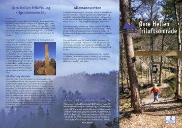Øvre Hellen friluftsområde - Bergen og Omland Friluftsråd