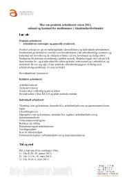Tid og sted - Akademikerforbundet