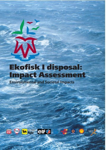 Impact Assessment Environmental and Societal Impacts