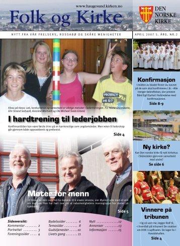 I hardtrening til lederjobben Møter for menn - Haugesund Kirke