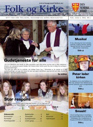 Stor respons Gudstjeneste for alle - Haugesund Kirke - Den norske ...