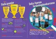 Konkurransehefte for Årets Nysgjerrigper 2014 (pdf)