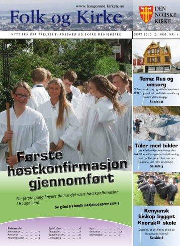 September - Haugesund Kirke - Den norske kirke