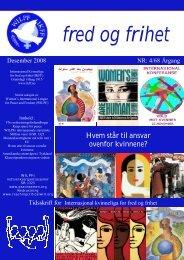 Fred og frihet nr. 4/2008 - IKFF