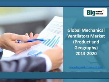 Key regulatory guidelines for Global Mechanical Ventilators Market 2013-2020
