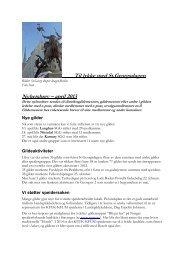 Nyhetsbrev nr 1/2013 - St. Georgs Gildene i Norge